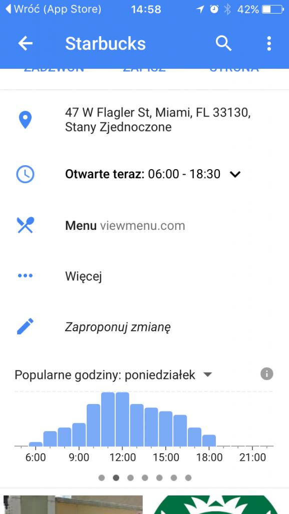 natężenie ruchu google mapy 1stplace.pl