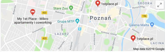 adres kod pocztowy mapy
